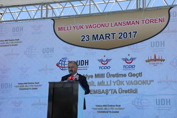 """""""MİLLİ TREN PROJESİ"""" NDE MİLAT"""
