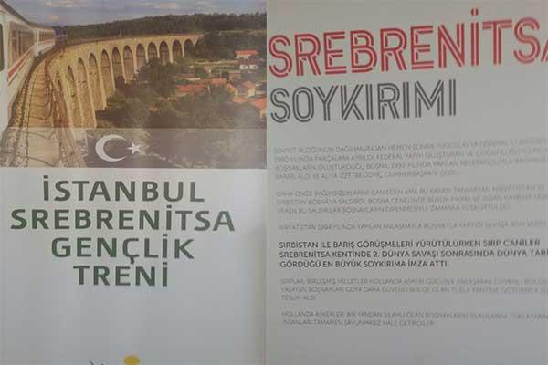 100 GENÇ TRENLE BOSNA'YA GİDİYOR