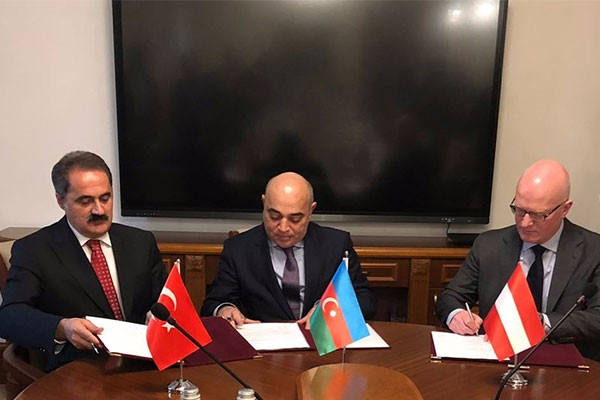 BTK İÇİN TCDD TAŞIMACILIK İLE AVUSTURYA VE AZERBAYCAN DEMİRYOLLARI İŞBİRLİĞİ