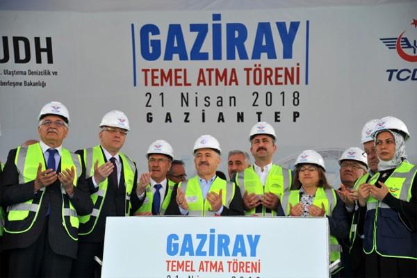 GAZİANTEP GAZİRAY'A KAVUŞUYOR